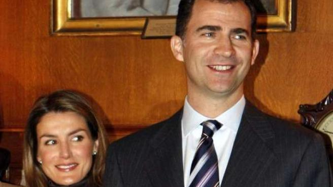 Los Príncipes de Asturias en Nueva York