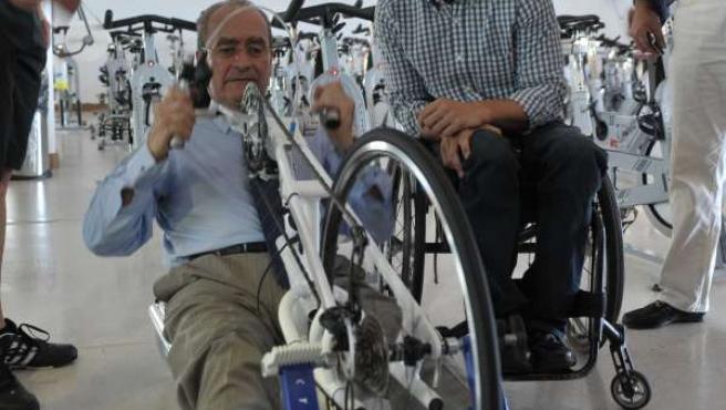 El alcalde de Málaga, Francisco de la Torre, y el concejal de Accesibilidad Univ