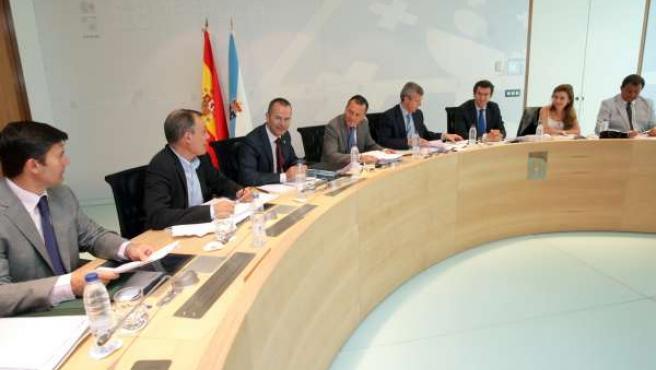 Reunión del Consello de la Xunta del 5 de agosto de 2010.