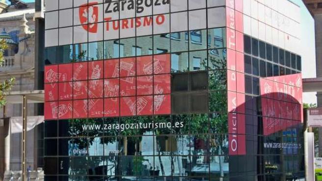 Oficina de Turismo de la plaza del Pilar