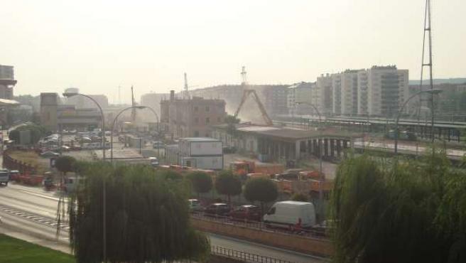 Estación del ferrocarril de Logroño