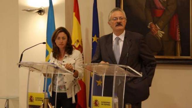 Ana rosa Migoya y Antonio Trevín