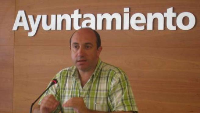 El portavoz del equipo de Gobierno municipal, Vicente Urquía