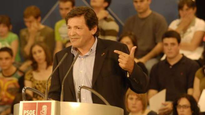 Fernández, en una de sus intervenciones