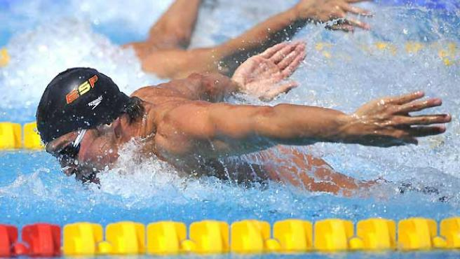 El nadador español Rafael Muñoz