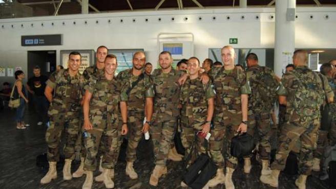 Militares de la Brigada Líbano