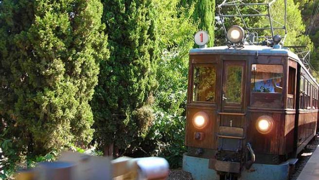 Tren clásico de Sóller.