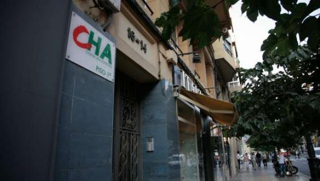 Sede regional de CHA (Aragón)