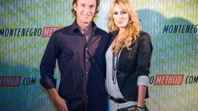 Carlos Moyá y Carolina Cerezuela, en una imagen de archivo.