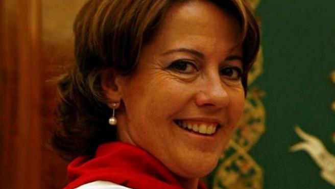 La alcaldesa de Pamplona, Yolanda Barcina.
