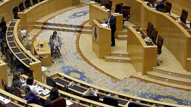 Imagen de archivo que muestra un debate en el Senado.