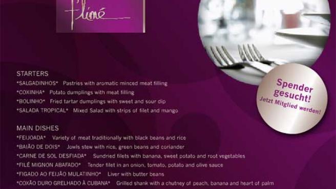 Imagen de la página web del restaurante Filmé.