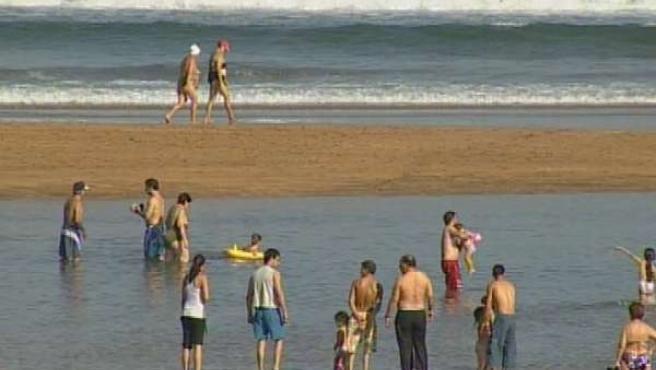 Ola de calor en Euskadi MinOro