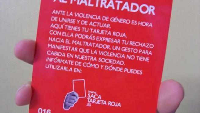 La Tarjeta Roja En Contra De La Violencia De Género.
