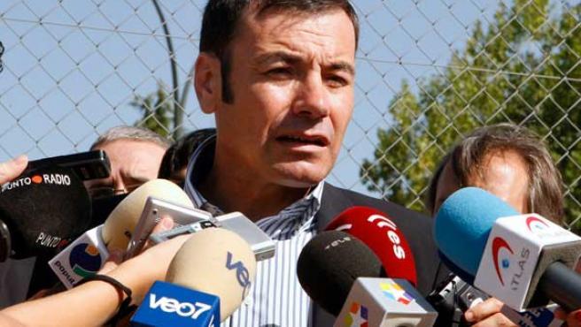 El secretario general del PSM, Tomás Gómez.