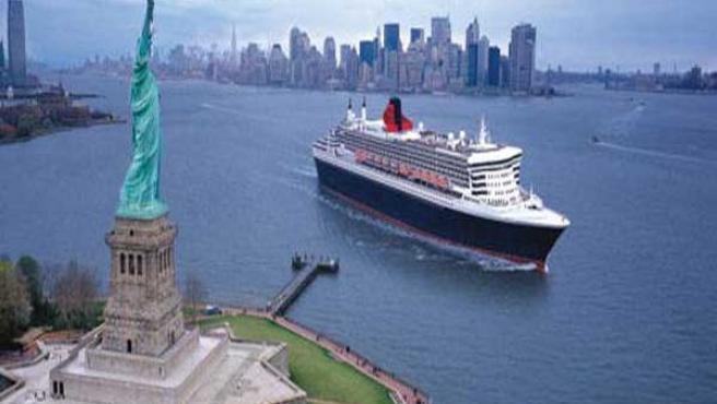 La mayoría de los barcos son verdaderos hoteles de lujo flotantes.