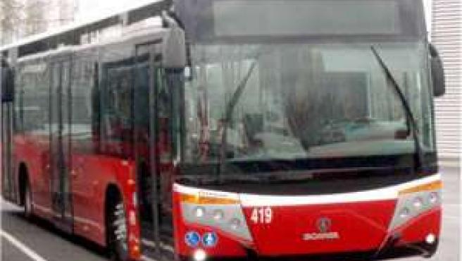Un autobús en Granada