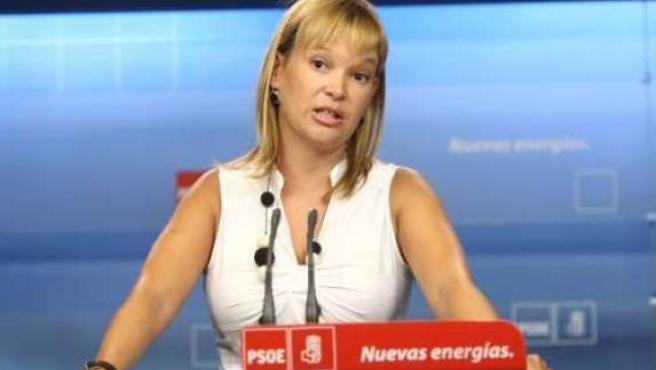 La secretaria de Organización del PSOE, Leire Pajín.