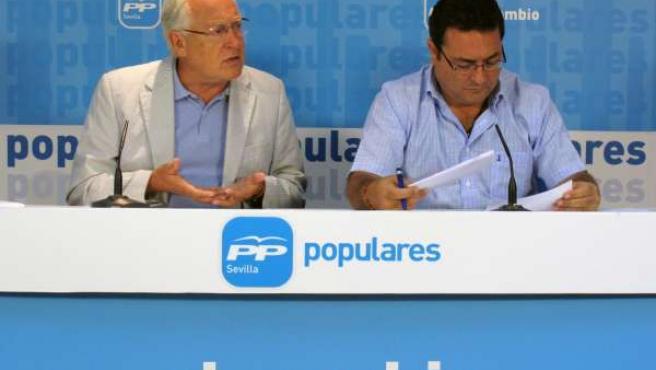 Jaime Raynaud y Manuel Alcocer
