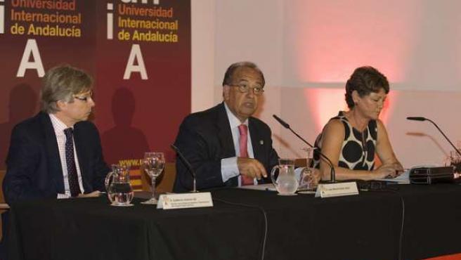 Guillermo Antiñolo, Juan Manuel Suárez Japón y María García Doncel