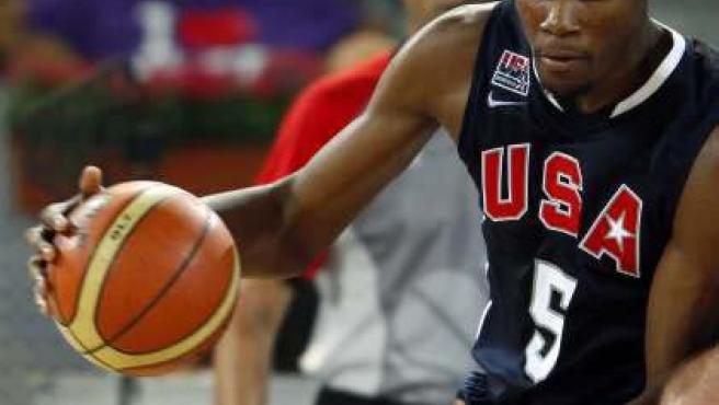 La estrella de Estados Unidos, Kevin Durant.