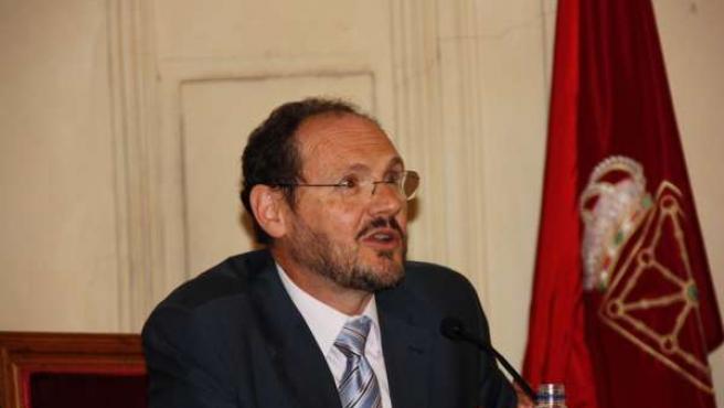 El presidente del Instituto de Contabilidad y Auditoría de Cuentas, José Antonio