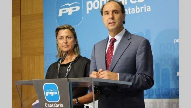Ignacio Diego y Ana Madrazo.