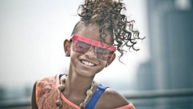 Willow Smith, en su foto de MySpace.