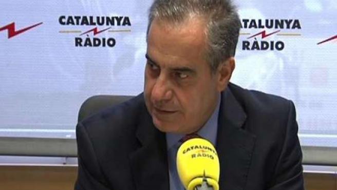 Celestino Corbacho, ministro de Trabajo.