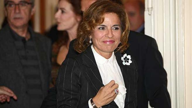 La delegada de Medio Ambiente en el Ayuntamiento de Madrid, Ana Botella, en una foto de archivo.