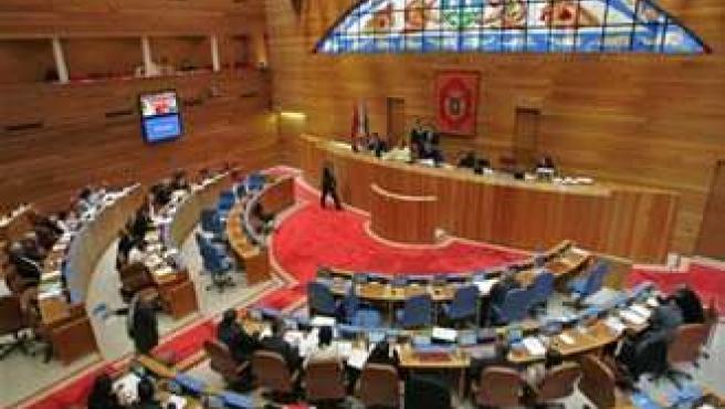 hemiciclo del Parlamento gallego