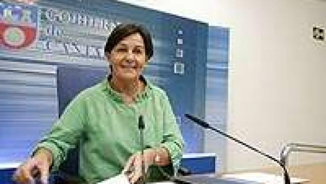 La vicepresidenta cántabra, Dolores Gorostiaga