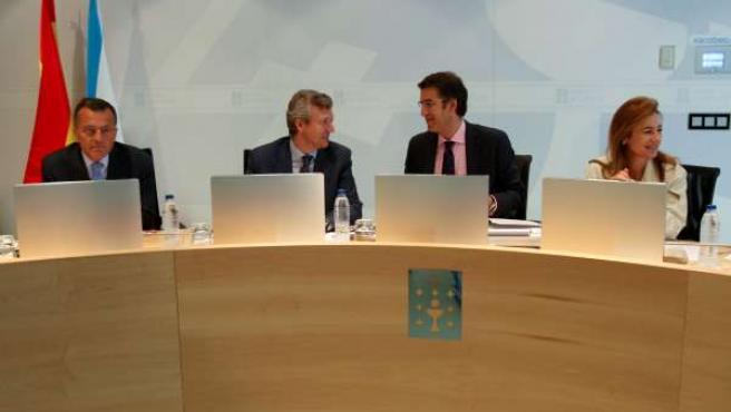 alberto nunez feijoo preside a reunion do consello da xuntafoto: ana varela23/9/