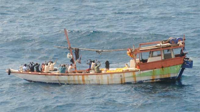 El pesquero 'Dhow'.
