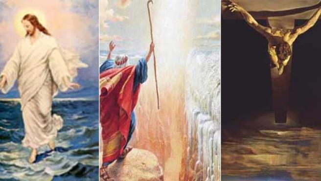 Muchos son los que intentan explicar, desde un punto de vista científico, varios pasajes milagrosos de la Biblia.