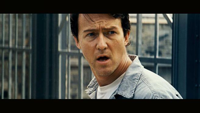 Edward Norton en una escena de 'El increíble Hulk' (2008).