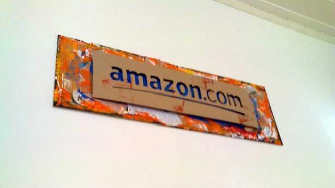 Cartel de Amazon.