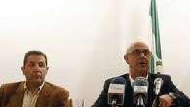 Ignacio Trillo en rueda de prensa