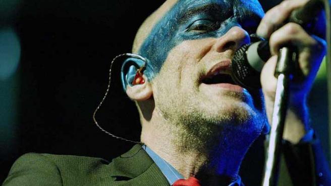 Michael Stipe, cantante de la legendaria banda REM.