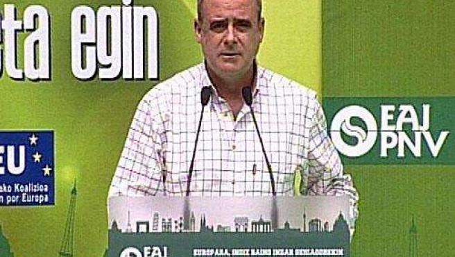 El portavoz parlamentario del PNV y presidente del GBB, Joseba Egibar