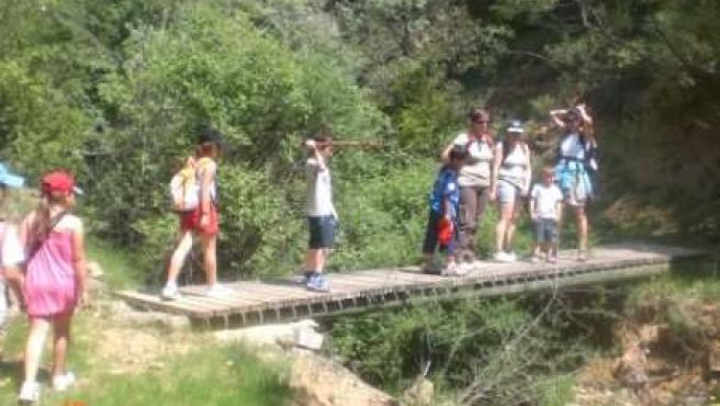 Los 'paseos en familia por las Cinco Villas' llegan a Uncastillo