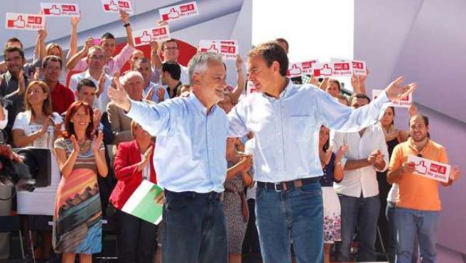 PSOE De Andalucía: Fotos Acto Zapatero Griñán Sevilla 2 10 10