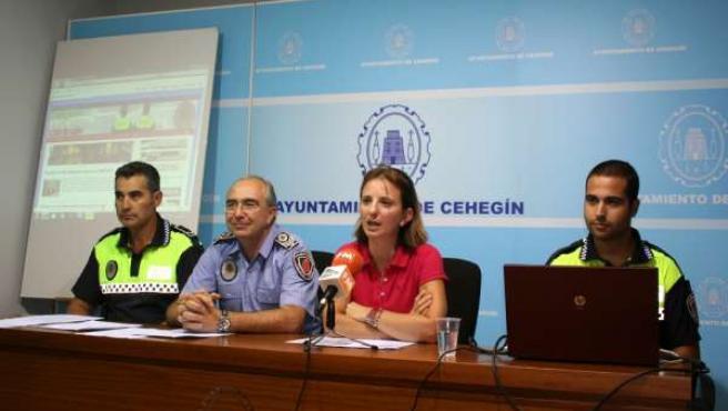 Presentación de la nueva web policial