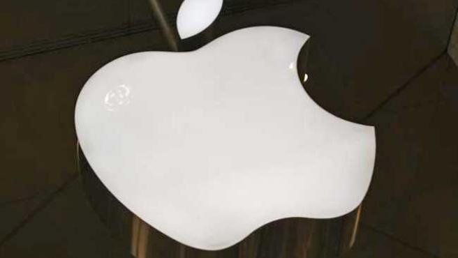 La manzana mordida, el famoso logo de Apple.