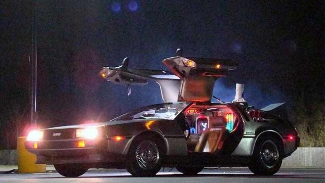 Una imagen del DeLoran de la película 'Regreso al futuro'.