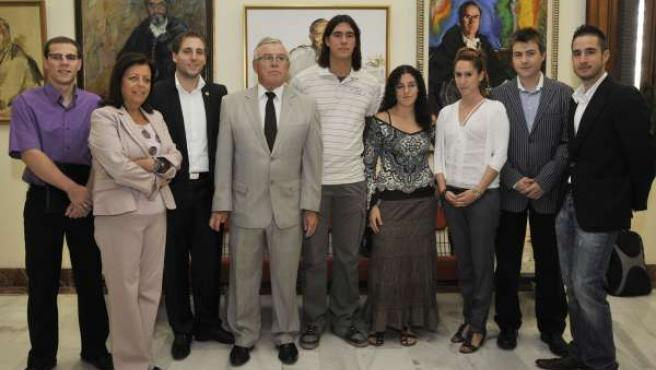 El rector y los miembros del CEUM