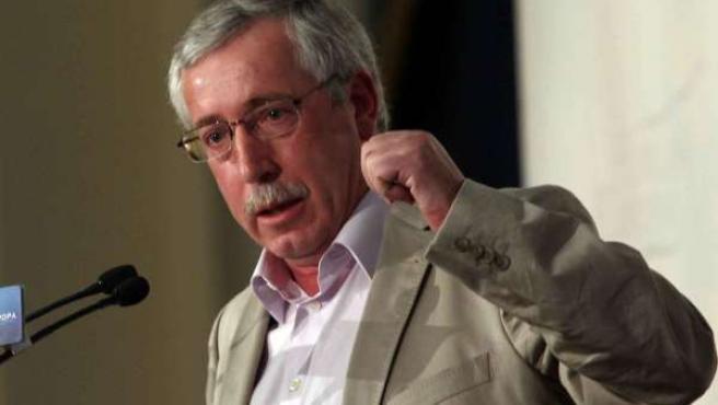 El secretario general de CC.OO., Ignacio Fernández Toxo, en una imagen de archivo.