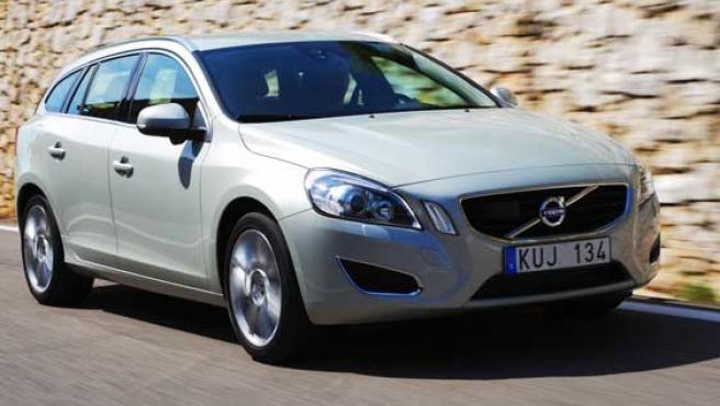 Una imagen del Volvo V60.