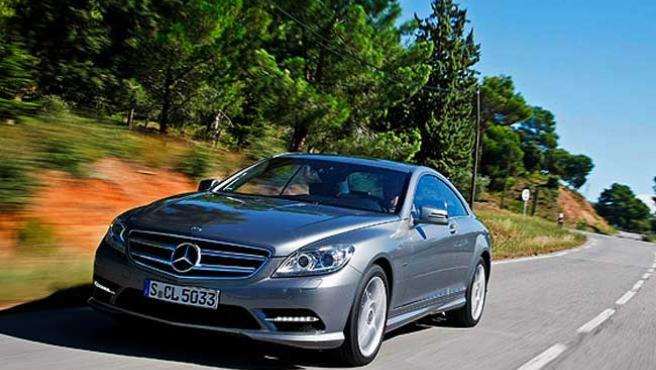 Una imagen del Mercedes 500 CL Facelift