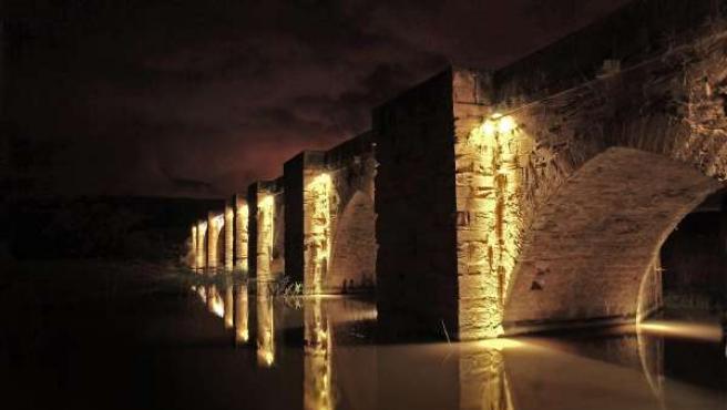 Imagen ganadora de 'La Rioja nocturna'